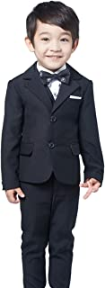 (AIMI)子供服 男の子 フォーマル スーツ 4点セット ボーイズ キッズ スーツ 結婚式 入園式 入学式 卒業式 発表会 演奏会 七五三 卒園式 NT018