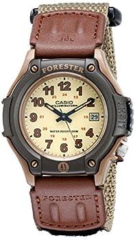 Casio Men s Sport Watch Quartz Nylon Strap Beige 20  Model  FT500WC-5BVCF