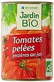 Jardin Bio Tomates Entières Pelées Bio, 400g