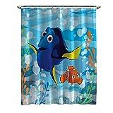 Disney Finding Dory Lagoon Vorhang für die Dusche, 177,8x 182,9cm