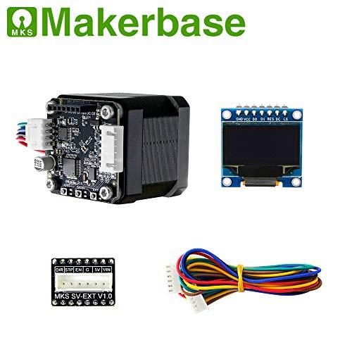 STM32 42 Closed-Loop Stepper Motor Set for MKS Servo Motor with Adapter Board 3D Printer Accessories