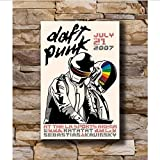 Zahuishile Daft Punk Music Star Dekoration Poster Wand