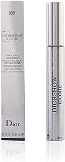 Christian Dior Iconic High Definition Lash Curler Mascara, 090 Black, 0.33 Ounce