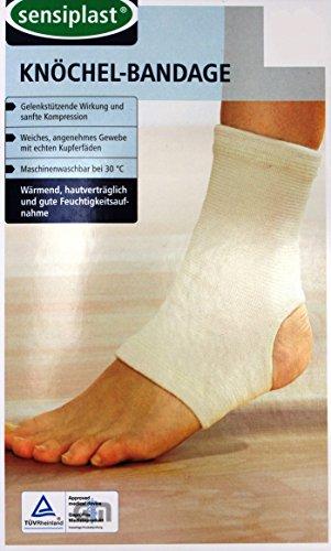 Sensiplast Knöchel - Bandage Gr. S/M Fußbandage ~cf87705