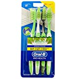 Oral-B Criss Cross Toothbrush with Neem Extract, Soft (Buy 2 Get 2 Free)