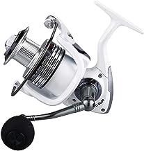 LIOOBO Carrete de Pesca Spinning Carrete de Pesca HC5000 para Pesca de Agua Salada o de Agua Dulce (Blanco Perla)