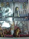 Warcraft 6' Figure Lothar - Garona - Gul'Dan - Durotan Action Figures with Accessorys - 4 Set Bundle