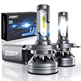 Fahren H4/9003/HB2 LED Headlight Bulbs, 60W 12000 Lumens Super Bright LED Headlights Conversion Kit 6500K Cool White IP68 Waterproof