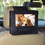 Supporto per Poggiatesta Auto per DBPOWER 7.5'' Lettori DVD Portatile con Girevole e Piegabile Schermo (7.5 pollici)