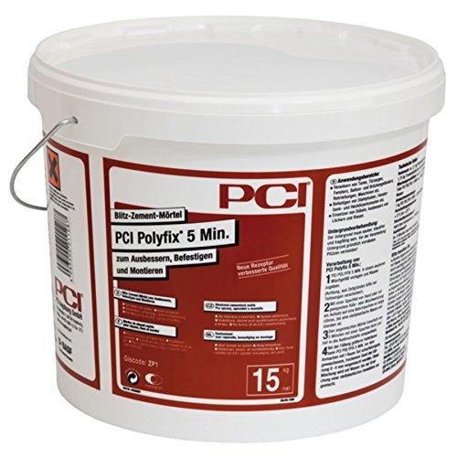 PCI POLYFIX, Blitz-Zement-Mörtel, 15 kg
