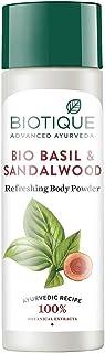 Biotique Bio Basil and Sandalwood Refreshing Body Powder, 150g