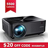 Best Full Hd 1080 Projectors - YABER Portable Projector with 5500 Lux Upgrade Full Review