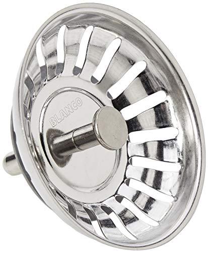 Blanco-Filterkorb für Stopperbetrieb (125590), 79 mm Pin (18 Schlitze), für 3,5-Zoll-Abfluss
