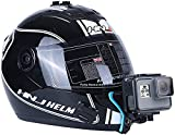 IIKisan Helmet Chin Strap Mount Bicycle Motorcycle Helmet Chin Strap Mount Compatible with GoPro Hero 4 5 6 7 8 9 Black/Session, AKASO/Campark/YI Action Camera for VLOG/POV Shoot Accessory