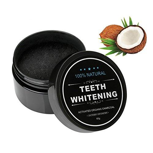Teeth Whitening Charcoal Powder–Polvo de carbón activo naturales Teeth Whitening bambú carbón Health Cleaner whiter Teeth–wiederzuerlangen tu sonrisa