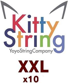 Kitty String Yo-Yo String 10 Pack - XXL (Orange)