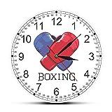 ROMK Reloj de Pared con Estampado Moderno, Reloj de Pared para...