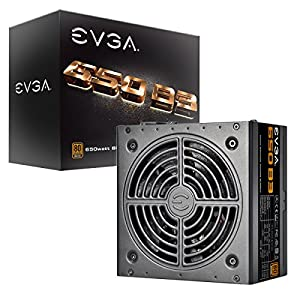 EVGA 650 B3  80+ BRONZE 650W  Fully Modular  EVGA ECO Mode  5 Year Warranty  Compact 150mm Size  Power Supply 220-B3-0650-V1