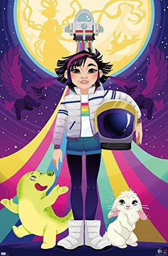 Trends International Netflix Over The Moon - Teaser Wall Poster, 22.375' x 34', Premium Unframed Version