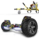 RCB hoverboards SUV Scooter Eléctrico Patinete Auto-Equilibrio Todo Terreno 8.5 ' Patinete Hummer Bluetooth + Hoverkart Asiento Kart para Overboard
