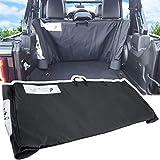 Soft Top Window Storage Bag For 2018-2021 Jeep Wrangler JL JLU Sports Sahara Freedom Rubicon Unlimited 2-Door & 4-Door Replace 68358392AC (Black)