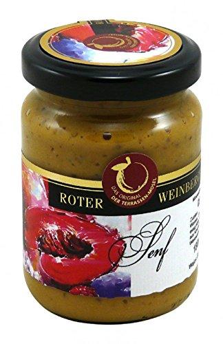 Gourmet Mostert Roter Weinbergpfirsich 180ml - Senf