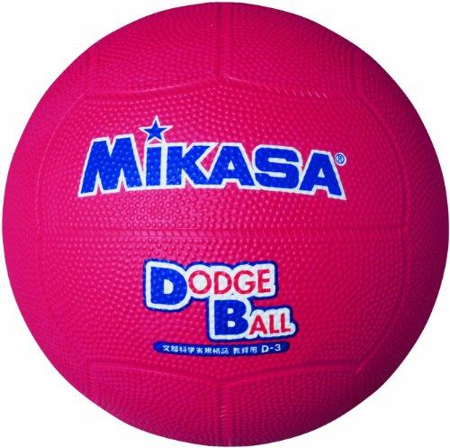 ミカサ(MIKASA) ドッジボール 1号 教育用 幼児~小学生向け レッド D1‐R