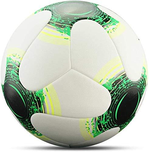 Plztou Talla 5 Fútbol PU Durable Balón de fútbol Deporte al Aire Libre Bolas de Entrenamiento