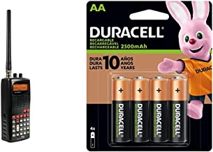 $97 » Whistler WS1010 Analog Handheld Scanner (Black) & Duracell - Rechargeable AA Batteries - Long Lasting, All-Purpose Double ...