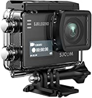 "SJCAM Legend SJ6 Sports Gyro Action Camera with 2"" Dual LCD Touch Screen, 1080p Resolution, Black"
