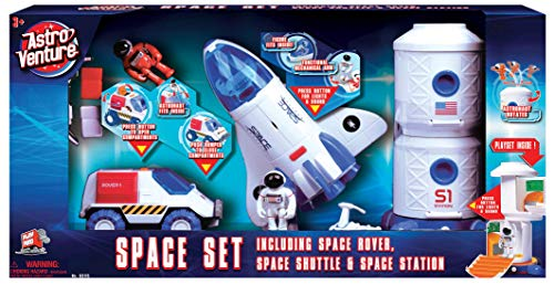 Astro Venture Space Playset - Toy Space Shuttle, Space...