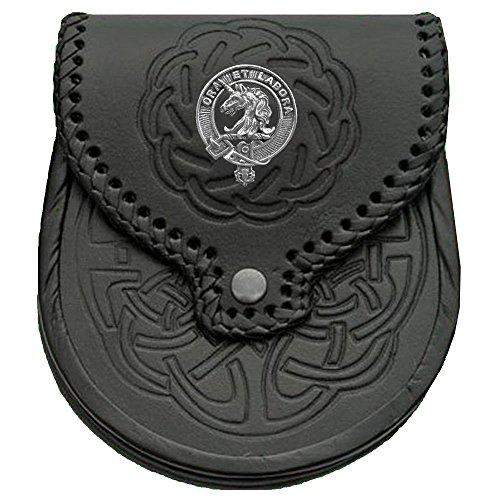 Ramsay Scottish Clan Crest Badge Sporran