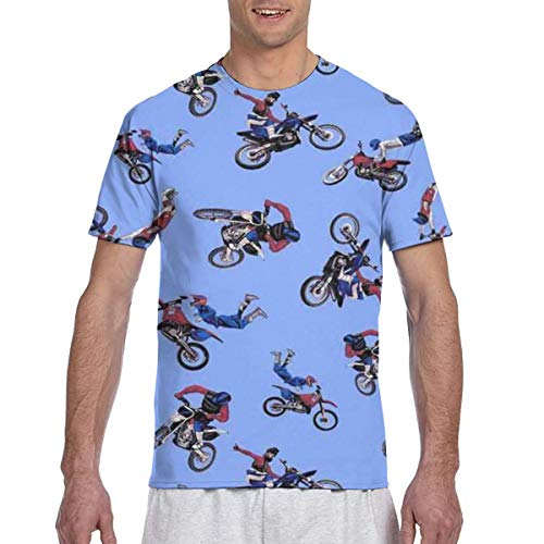 Baby Girls Kids Motocross Heartbeat Soft Short Sleeve Tee Tops Size 2-6