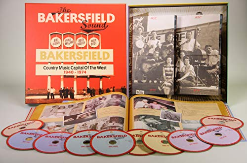 The Bakersfield Sound - Country Music Capital Of The West 1940 - 1974 (10-CD Deluxe Box Set)
