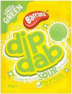 Barratt Dip Dab Sour Apple Flavour x 10