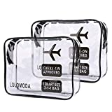 2Pcs Beauty Case da Viaggio, Cosmetici Trousse...