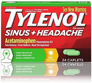 Tylenol Sinus +Headache Non-Drowsy Daytime Caplets