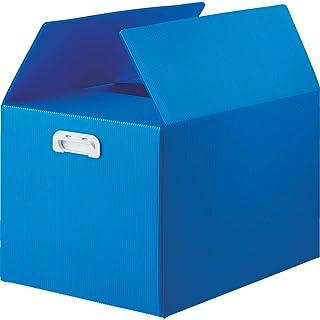 TRUSCO(トラスコ) ダンボールプラスチックケース 5枚セット B3サイズ 取っ手穴なし ブルー TDP-B3D-5B