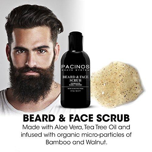 Pacinos Beard Exfoliant and Face Scrub