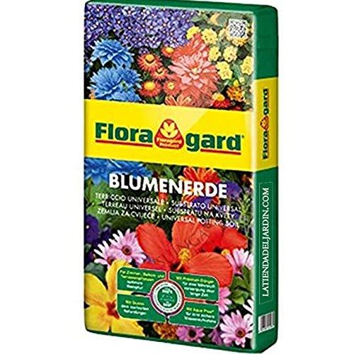 Suinga SUSTRATO UNIVERSAL PREMIUM FLORAGARD 70 Litros. Saco de turba utilizado para césped, macetas, plantas, jardines. Considerado el mejor sustrato del mercado