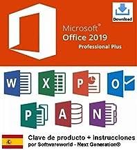Clave de producto Office Professional Plus 2019 de 32/64