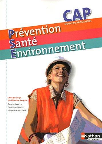 Prévention Santé Environnement- CAP