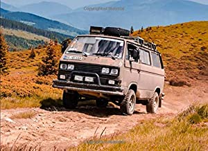 Volkswagen Transporter: 120 pages with 20 lines you can use as a journal or a notebook .8.25 by 6 inches