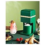 BECCYYLY Helado eléctrico, máquina de Helados para niños pequeños, Mini Máquina de Hielo para el hogar para el Yogurt Storbet congelado Cocina Inicio wmpa