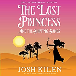 The Lost Princess and the Shifting Sands cover art