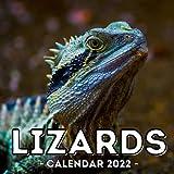 Lizards Calendar 2022: 16-Month Calendar, Cute Gift Idea For Reptile Lovers Women & Men