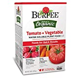 Best Tomato Plant Fertilizers - Burpee Organic Tomato and Vegetable Water Soluble Plant Review