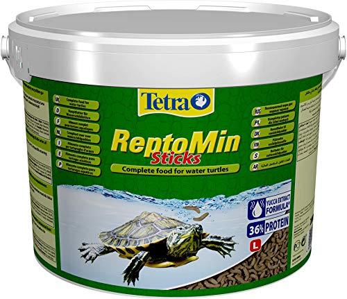 Tetra ReptoMin Sticks 10 L - Alimento completo para tortugas acuáticas