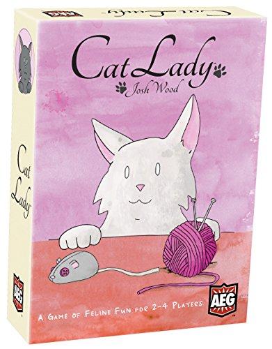 EDICIONES PRIMIGENIO- Cat Lady - Juego de Cartas, Color, Estándar (5885AEG)