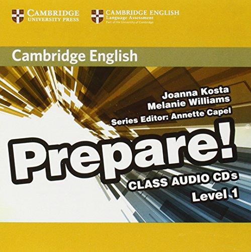 Prepare! Level 1: Class Audio CDs